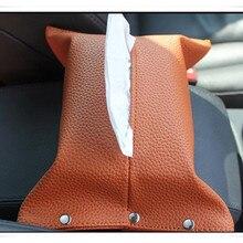 Стайлинга автомобилей Tissue Box держатель для Mercedes-Benz W205 X117 C117 C257 X218 C218 R197 C197 автомобильные аксессуары