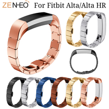 Luxury Stainless Steel watch Strap For Fitbit Alta/Alta HR bracelet Replacement Wrist Smart Watch Accessory Bands Watches straps