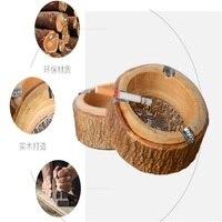 الرجعية الخشب الصلب منفضة الفردية الإبداعية منفضة