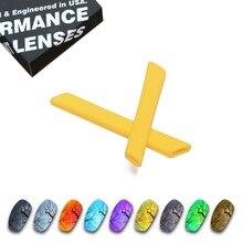 ToughAsNails Polarized Replacement Lenses & Yellow Ear Socks for Oakley Split Jacket Sunglasses - Multiple Options
