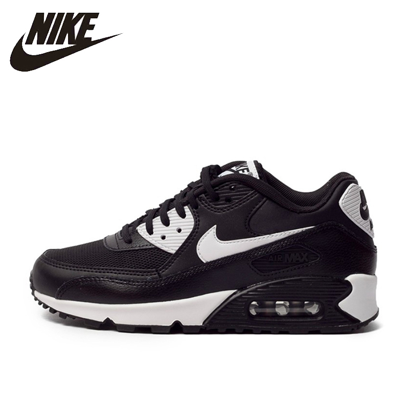 купить Nike New Arrival Air Max 90 ESSENTIAL Women's Running Shoes Breathable Comfortable Classic Sneakers 616730-023 по цене 4864.54 рублей
