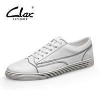 CLAX Man Fashion Shoes Genuine Leather Spring Summer Leather Shoe Casual Sneakers chaussure homme designer luxury men shoes Soft