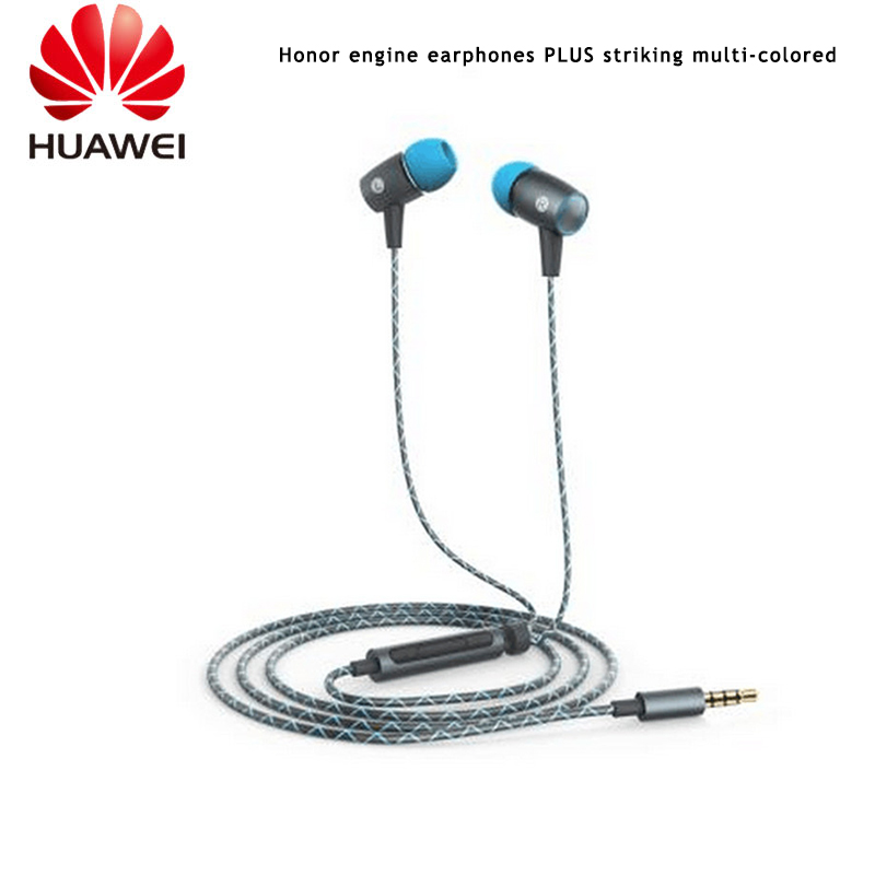 Original huawei AM12 plus  In Ear Honor Engine with Mic Earphone for Honor 6s Plus 3X 3C P7 Mate 8 P8 P9 meizu xiaomi