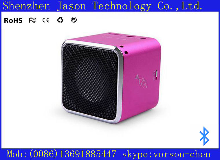 hot portable mini bluetooth speaker music angel with hands