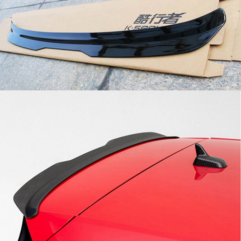 for Volkswagen GOLF MK7 MK7.5 spoiler 2014-2018 GOLF 7 GOIF 7.5 spoiler high quality ABS material car rear wing color rear