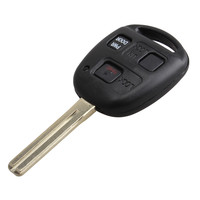 Black Remote Entry Ignition Power Key Fob For Lexus RX350 RX450h RX330 3 Buttons With Chip FCCID HYQ12BBT Refit Car Key