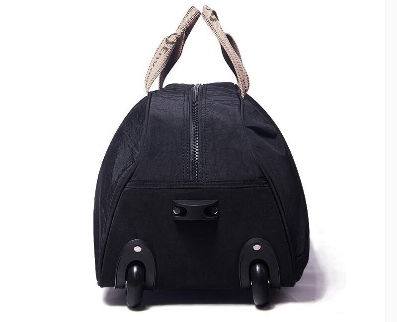 para mulheres Mochila de viagem saco da bagagem De Viagem Com Rodas