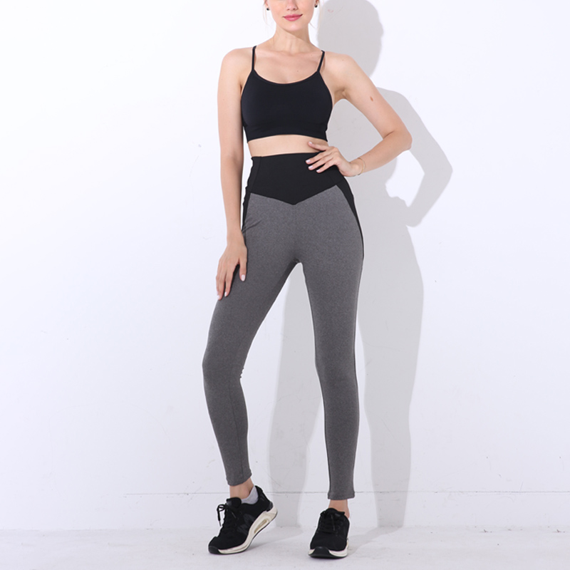 NORMOV Fashion Patchwork Women Leggings High Waist Elastic Push Up Seamless Ankle-Length Legging Causal Leggings Fitness Female