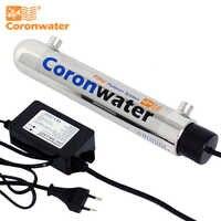 Coronwater 1gpm Wasser UV Desinfektion Sterilisator Reinigung System für Haushalts Wasser Filter