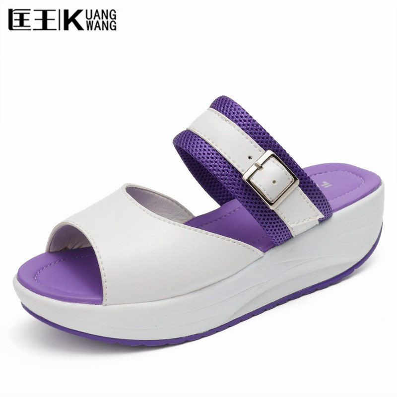 2017 Summer Women's Sandals Casual Mesh Shoes Woman Slippers Summer Shoes Comfortable Wedges Sandals Platform Sandalias mujer phyanic 2017 gladiator sandals gold silver shoes woman summer platform wedges glitters creepers casual women shoes phy3323
