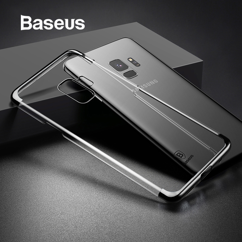 Baseus Transparent Case For Samsung Galaxy S9 S9 Plus Hard PC Clear Full Protection Cover Ultra Thin Phone Back Coque Anti-shockBaseus Transparent Case For Samsung Galaxy S9 S9 Plus Hard PC Clear Full Protection Cover Ultra Thin Phone Back Coque Anti-shock