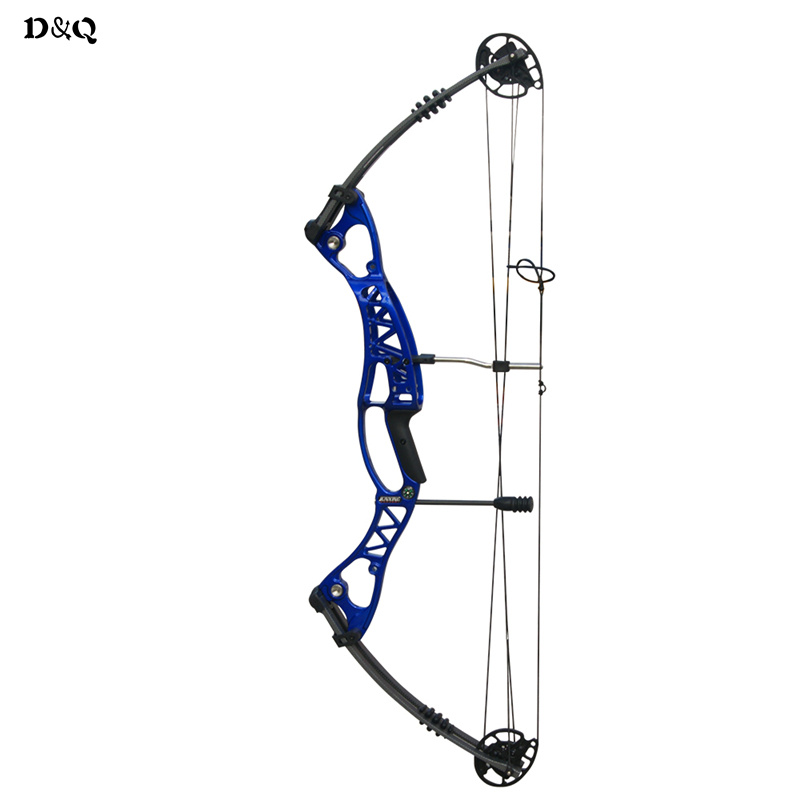 Archery Aluminum Alloy Compound Bow with Adjustable 40-60lbs Draw Weight Slingshot Bow for Outdoor Hunting Shooting Target Games hot sale children compound bow draw weight 8 12 lbs for archery practice competition games bow target hunting shooting page 4