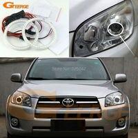 For Toyota RAV4 2009 2013 Excellent Led Angel Eyes Ultrabright Illumination Smd Led Angel Eyes Halo
