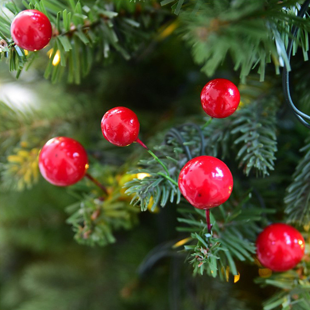 Christmas Tree Fruit Ornaments.Us 0 68 26 Off 12pcs Christmas Tree Decoration Simulation Cherry Christmas Decorative Pendant Artificial Fruits Decorations For Christmas Tree On