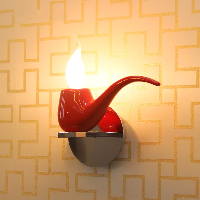 Creative Art building decorative wall night light children bedroom bedside lamps for decorative home lanterns цена 2017