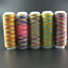 5Pcs/pack Rainbow Color Sewing Thread Hand Quilting Embroidery for Home DIY Accessories Supplies Gifts