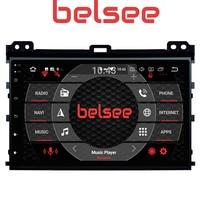 Belsee 9 IPS Screen Octa core Player Android 8.0 Car Head Unit Radio Navigation for Toyota Land Cruiser Prado 120 Lexus GX470