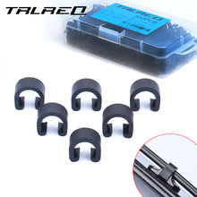 TRLREQ road bike brake cable clip fixed mtb shift housing clamp 30 piece / lot
