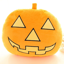 Halloween Stuffed Pumpkin Plush Toy Cartoon Cute Birthday Gift For Children Brinquedos Pumpkins Toys Cojines Pillow Doll 60F012