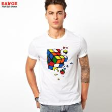 Superb cracked rubik's cube unisex t-shirt