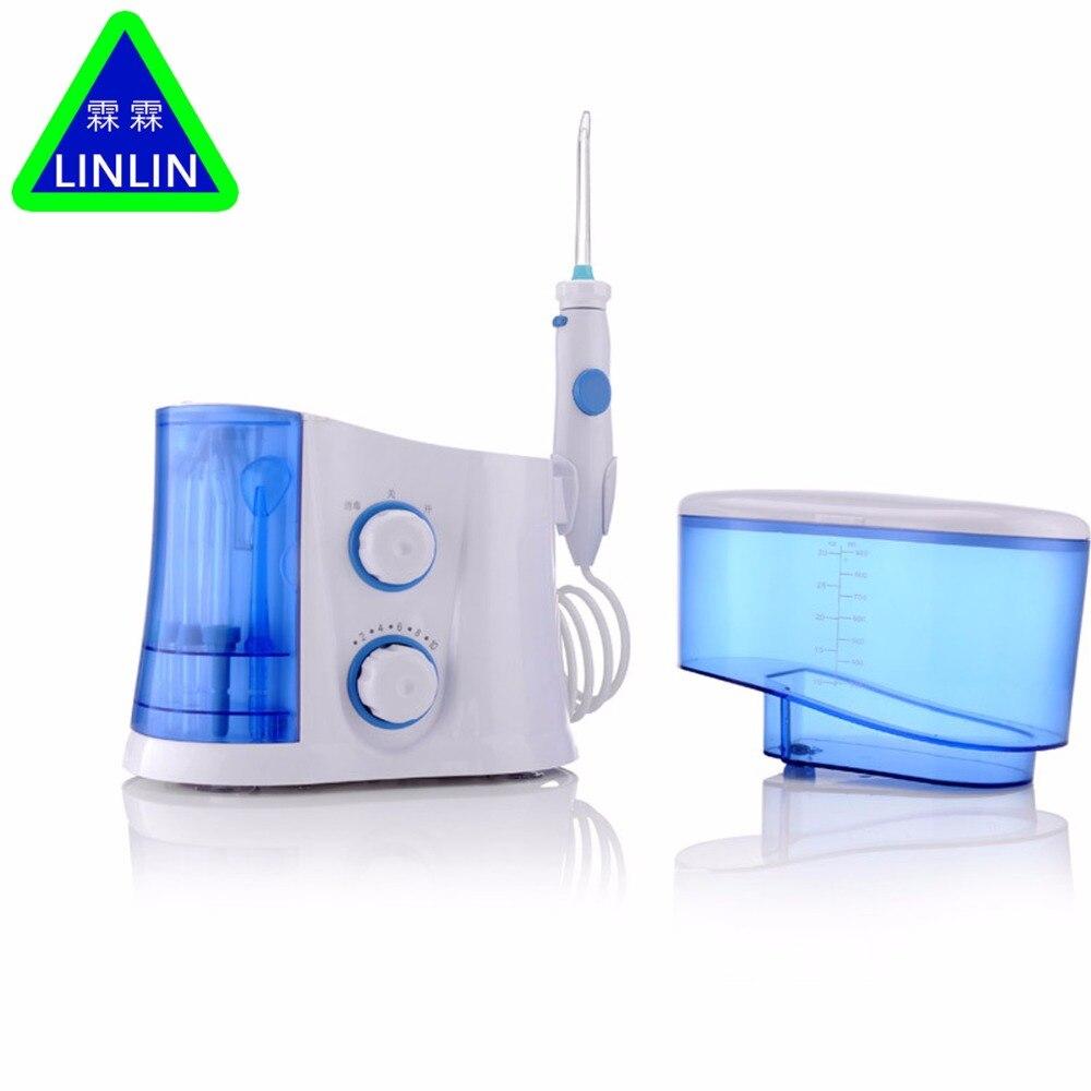 Image 3 - LINLIN Original Dental Floss Water Oral Flosser Dental Irrigator Care Oral Hygiene Dental Care Flossing Set Oral Teeth Cleaner-in Teeth Whitening from Beauty & Health