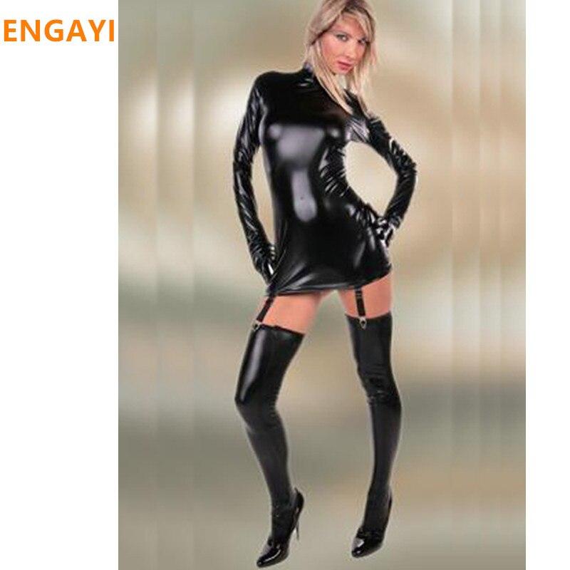 кож платье порно фото