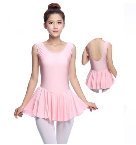 1de5a8801296 gymnastics leotard dancewear Backless Sleeveless dance ballet women ...