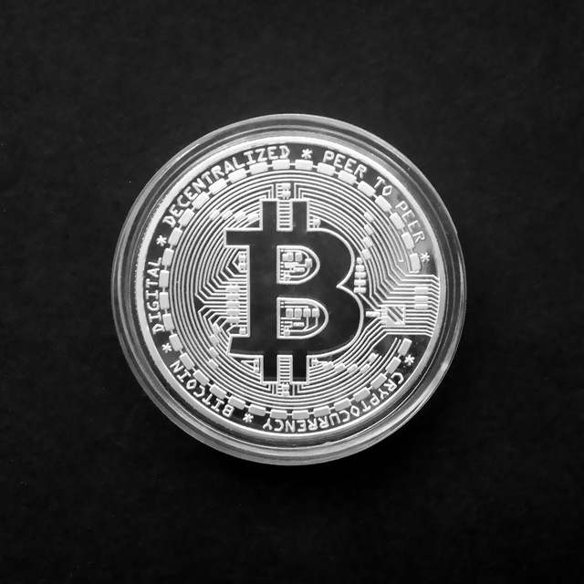 Gold Antique Bitcoin Collectible Art Commemorative Coin Collectible Gift Lucky Gold Plated Coin Bit BTC Metal Imitation40x1.5mm 2