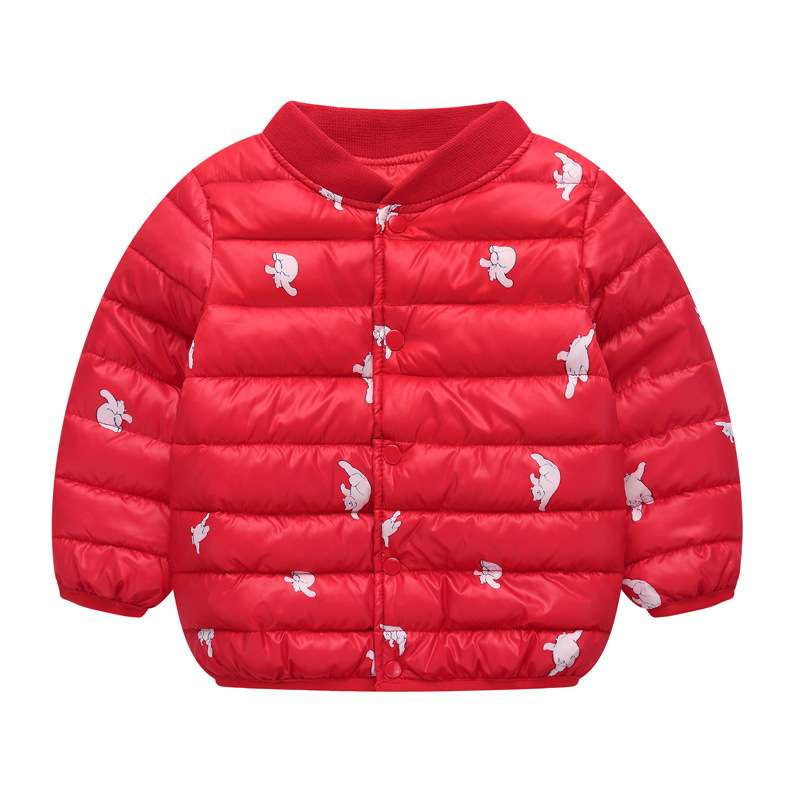 Girls Jackets 2021 Children Outerwear Coat Winter Baby Boys Girls Cardigan Jacket Toddler Warm Coat Kids Clothes For 3-7 Years 3