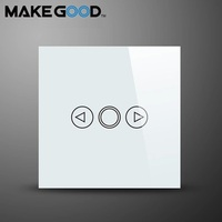 Free Shipping Electrict Touch Light Dimmer Switch With Touch Screen Glass Panel AC110 240V CE Approval