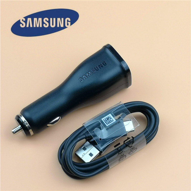 Original Samsung Car Charger Adapter Adaptive Fast Charge Usb Car-charger for galaxy s10 S10e s8 s9 plus a5 2017 note 8 9