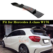 R Style Carbon Spoilers For Mercedes W176 A Class 5-door Hatchback 2013 - 2018 A180 A200 A250 A45 AMG Rear Boot Spoiler Tail Lid