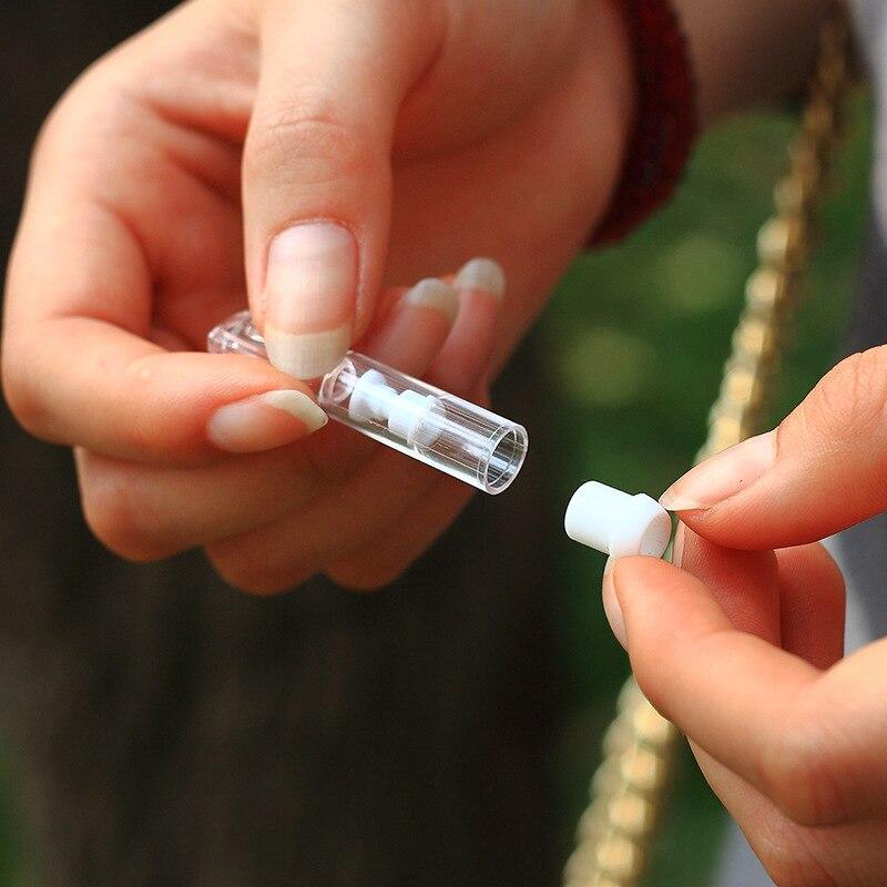 2 unids/lote 5,2mm Slim señoras sostenedor de cigarrillo convertidor y cubierta de polvo de filtro desechables ciclo a prueba de polvo de la boquilla