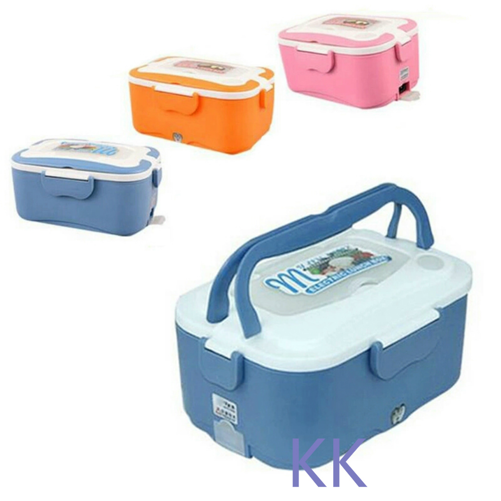 1.5L Electric Food Heating Lunch Box 304 Stainless Steel Inner Pot Heater Lunch Box 12V/24V/220V Food Warmer 220v 600w 1 2l portable multi cooker mini electric hot pot stainless steel inner electric cooker with steam lattice for students