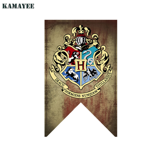 75cmx125cm Harry Potter Hogwarts School Crest Flag