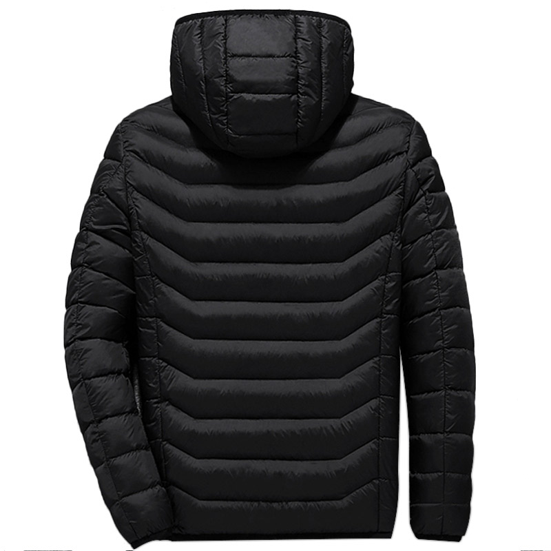 Image 4 - USB Smart Charging Heating Jacket Winter Thermal Clothing Body Heating Warm Thermostatic Clothes (Power bank not included)-in Safety Clothing from Security & Protection