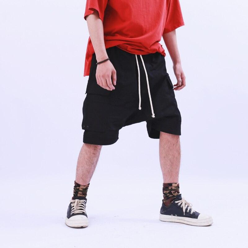 Europe et amérique haute rue style RO classique multi-sac outillage sarouel marée haute rue hommes cinq pantalons