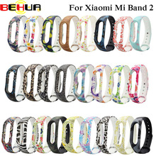 Watch Silicone For Xiaomi Mi Band 2 Smart Watch Wrist Strap Belt Colorful Wristband for Mi Band 2 Bracelet Watchband Accessorie silicone rubber watch band 22mm for pebble steel 2 smart watchband resin strap wrist belt bracelet black tool and spring bar