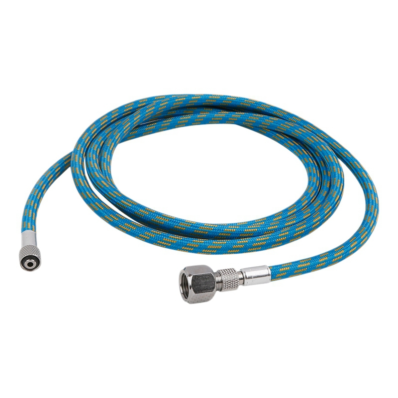 180Cm 1/4 Inch - 1/8 Inch Nylon Braided Airbrush Spray Pen Air Hose For Airbrush Compressor Tool Accessories Cake Needle Body