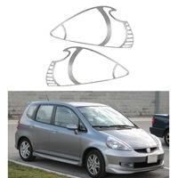 Head Light Lamp Cover Trim For Honda Fit Jazz 2001 2003 2004 2005 2006 2007 2008 Car Accessory