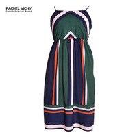 Rachel Vichy new sexy beach casual dress France designer 2128 summer women boho clothes Vichy aliexpress uk dresses RV0198