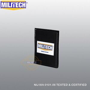 "Image 3 - MILITECH Ballistic Panel BulletProof Plate Side Insert 6"" x 8"" Pair NIJ Level 3A & NIJ 0101.07 Level HG2 Aramid Soft Body Armor"