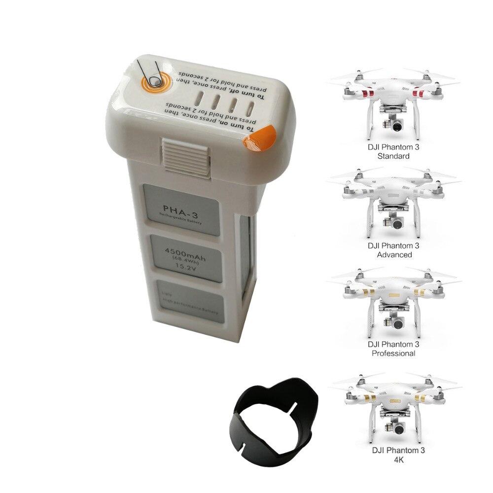 4500 mah Li-Po Remplacement Intelligente Drone Batterie pour DJI Phantom 3 batterie Fantôme 3 SE Avancée drone batterie