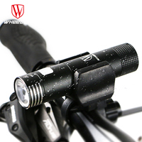 WHEEL UP Mini Usb Rechargeable Bike Light Front Handlebar Bicycle Led Lights Battery 18650 Flashlight Torch