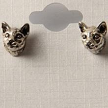 1 шт. продукты Новый дизайн Limited Edition ручной подросток волк серьги aliexpress ювелирных изделий