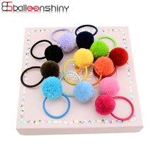 BalleenShiny/12 шт./лот, Детские резинки для волос для девочек, милые модные резинки для волос, Лидер продаж, новинка, эластичные резинки для волос