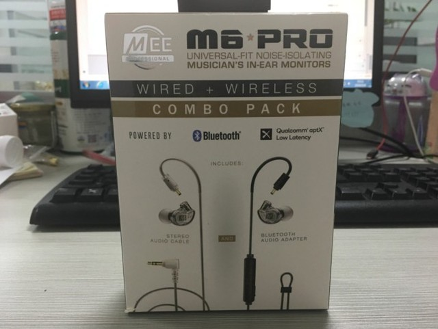 جديد 2019 سلكي + لاسلكي MEE M6 PRO عالمي مناسب لعزل الضوضاء شاشات في الأذن سماعات أذن سماعات VS m6 pro 2nd
