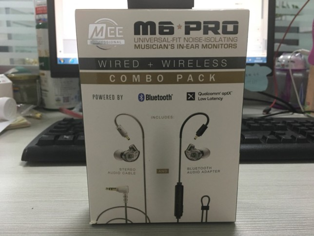 2019 NEW wired+wireless MEE M6 PRO UNIVERSAL FIT NOISE ISOLATING MUSICIAN'S IN EAR monitors earphones headphones VS m6 pro 2nd