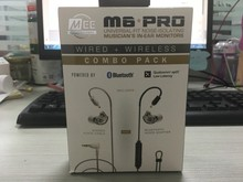 2019 NEW wired+wireless MEE M6 PRO UNIVERSAL FIT NOISE ISOLATING MUSICIANS IN EAR monitors earphones headphones VS m6 pro 2nd