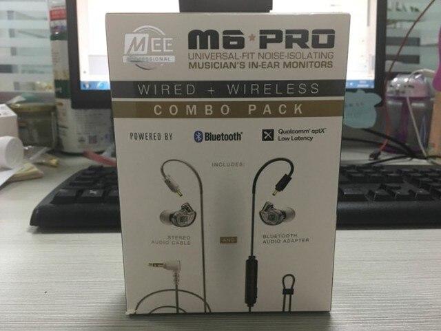 MEE auriculares M6 PRO inalámbricos con cable y aislamiento de ruido universales, auriculares internos para monitores, VS m6 pro 2nd, novedad de 2019